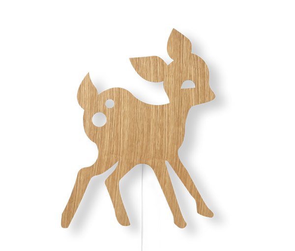 Bilde av My deer lampe - Oljet eik
