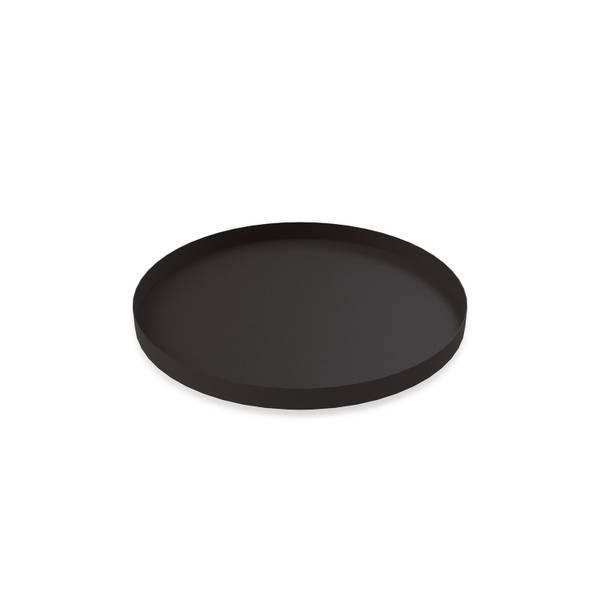 Bilde av Tray Circle 30 x 2 cm - Black