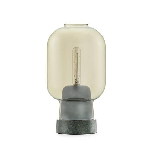 Bilde av Amp bordlampe - Gull/grønn