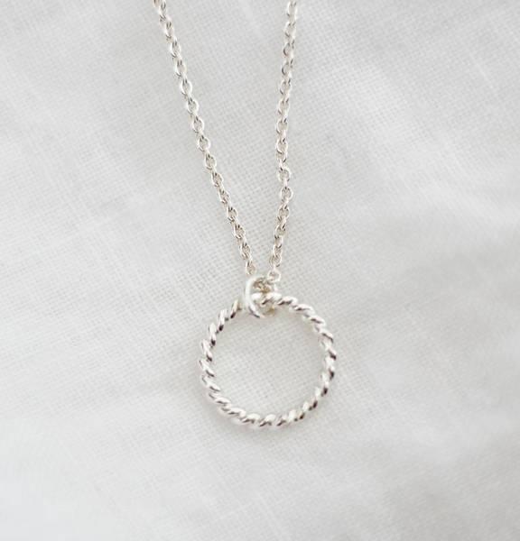 Bilde av Spire, Halssmykke sølv 45 cm