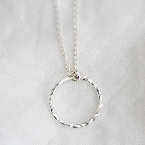 Bilde av Kvist, Halssmykke sølv 50cm