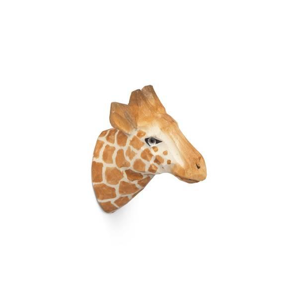 Bilde av Ferm Living Hand-carved Hook - Giraffe