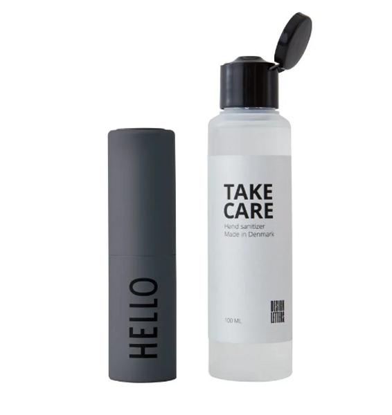 Bilde av Design Letters Håndsprit Grå - Hello