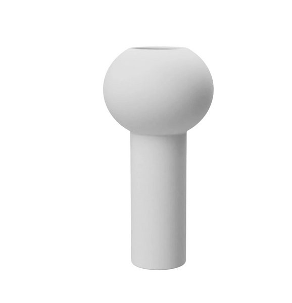 Bilde av Pillar vase 24 cm - Hvit