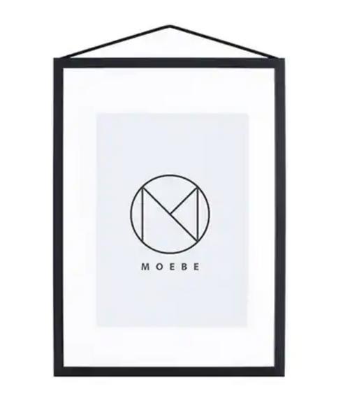 Bilde av Moebe Frame A4 - Svart