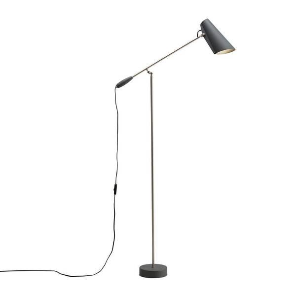 Bilde av Birdy gulvlampe grå