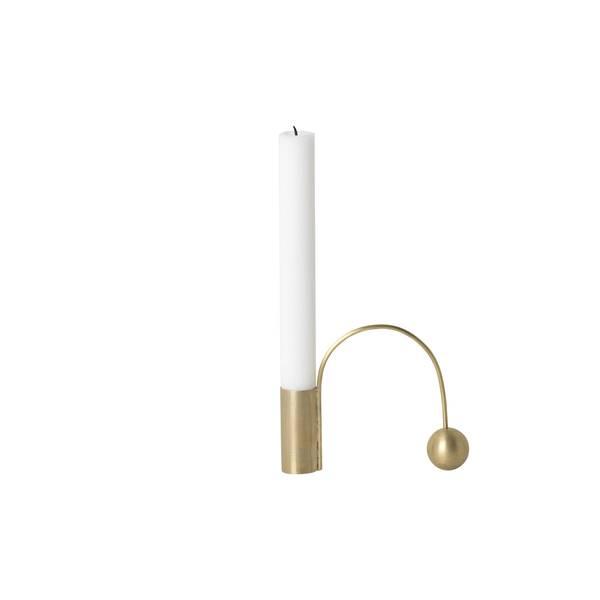 Bilde av Ferm Living Balance lysestake - Brass