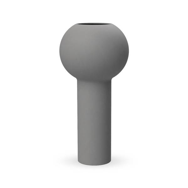 Bilde av Pillar Vase 32 cm - Grey