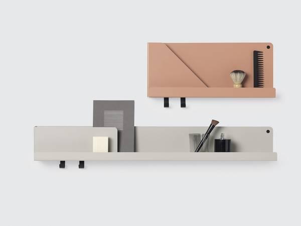 Bilde av Muuto Folded shelves L - Grå